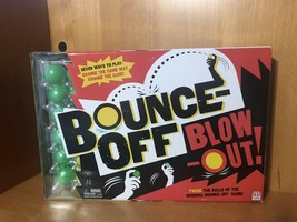 BOUNCE OFF BLOW OUT Board Game by Mattel - $9.74