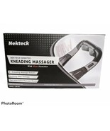 Nekteck Back Neck and Shoulder Massager with Heat, Deep Tissue 3D Kneading - $36.59