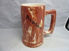 Vtg Alaskan Native Clay beer stein mug by Ruby. Alaska - $20.69