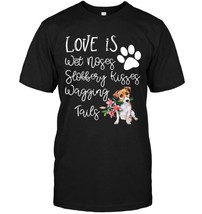 Jack Russell Terrier Dog Lover TShirt I Love My Dog - $17.99+