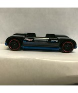 Black Go Pro Zoom In Hot Wheels Loose Diecast Car NP - $5.45