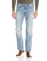 Levi's Strauss 513 Men's Slim Straight Fit Distressed Jeans Thrasher 513-0700