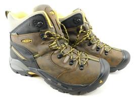 "Keen Pittsburgh 6"" Size 10.5 M (D) EU 44 Men's WP Steel Toe Work Boots 1007025"