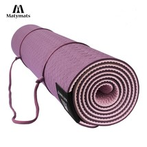 Matymats Non Slip TPE Yoga Pilates Gymnastics Bikram Meditation Towel- 1... - $73.89