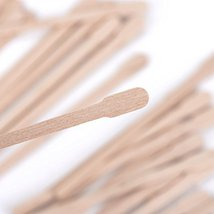 400 Packs Wax Spatulas Whaline Small Wooden Waxing Applicator Sticks Face & Eyeb image 3