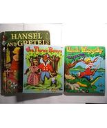 3 Collectible Children's Books: the Three Bears, Hansel and Gretel and U... - $9.99