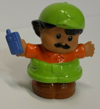 Fisher Price Little People Construction Worker Walkie Talkie Cell Phone ... - $4.94