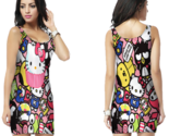 Hello kitty cute bodycon dress for women thumb155 crop