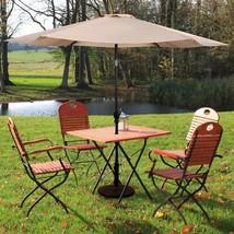 10FT Patio Umbrella 6 Ribs Market Steel Tilt W/ Crank - $58.27