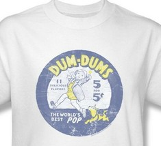 Dum-Dums T-shirt Free Shipping distressed logo vintage style cotton tee DUM110 image 1