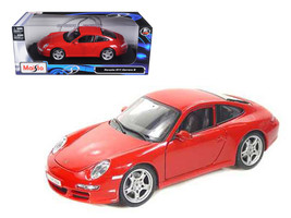 Porsche 911 Carrera S Red 1/18 Diecast Model Car by Maisto - $39.99