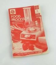 G.E Food Procrssor Model D5PH1 Manual Only  - $9.46
