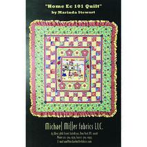 Ruffled Border Quilt Pattern Home Ec 101 Marinda Stewart Michael Miller ... - $3.99
