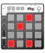 IK Multimedia - iRig PADS MIDI Groove Controller - Black/Gray - $209.43