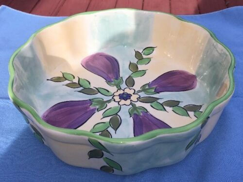 Heather Outlaw for Magnolia The Essex Collection Baking Casserole EUC Eggplants