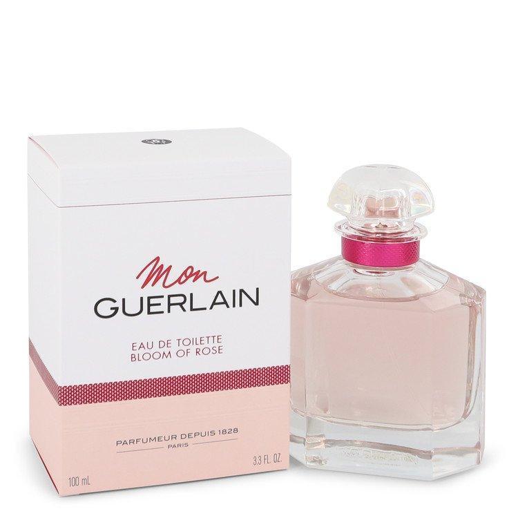 Mon Guerlain Bloom of Rose by Guerlain Eau De Toilette Spray 3.3 oz