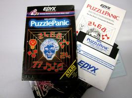 "Atari Computer 400   800 Game Ken Uston's ""Puzzle Panic"" By Epyx ""Open Box""  - $89.95"