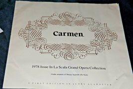 """""""Carmen"""" Di Volteradici Commemorative Plate by Gene Ruggeri AA20-CP2330 Vintage image 8"""