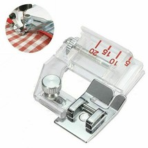 Adjustable Bias Binder Presser Foot Attaching Binding Snap-on For Sewing... - $12.55