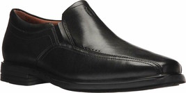 Mens Clarks Unsheridan Go Slip-On Loafer - Black Leather, Size 11 [261 2... - $159.99