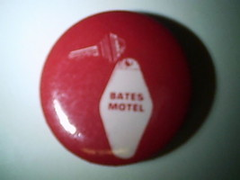 Vintage Bates Motel Psycho II 1983 Original Movie Promotional Button,RAR... - $18.69