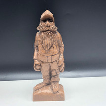Rapitz RAP folk art wood carve figure statue sculpture hillbilly basebal... - $74.25