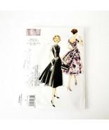 Vogue V1084 Size 14 16 18 20 Dress 1956 Style Grace Kelly Wide Skirt Pat... - $14.99