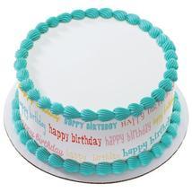 Birthday Blowout Edible Cake Topper Image Strips - $9.99