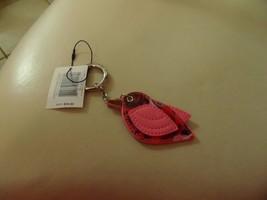 Vera Bradley Lovebird Bag Charm key chain in Havana Hothouse NWT - $35.00