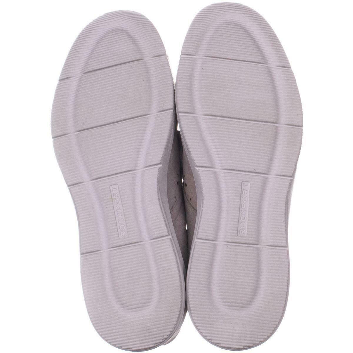 Rockport Ayva Schnürschuhe Oxford Sneakers 219, Hellgrau, 7 US 37.5 Eu