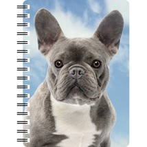 Blue French Bulldog Notebook with 3D picture on the cover  - $5.10