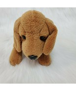 "8"" Russ Berrie Snoops Dachshund Puppy Dog Brown Plush Beanbag Stuffed To... - $16.97"
