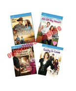 4 Hallmark Film Collection DVD Set Lucky in Love Harvest Moon All Of My ... - $69.29