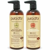 PURA D'OR Dor Professional Grade Anti-Hair Thinning Set 2X Concentrated Actives