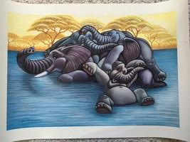 Mom (1991): Print by Gian R. Cassarino (1929-2002) Disney Artist, Signed - $58.68