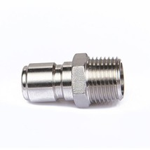 """Stainless Steel Male Quick Disconnect FPT 1/2"""" - $10.84"""