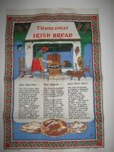 Nelson 100% Linen Tea Towel Traditional Irish Bread Recipes Made Ireland - $6.88