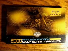 2000 Harley Davidson FLT Touring Owner's Owners Manual, Electra Glide Road King - $64.35