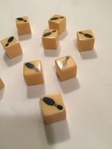 Vintage 60s Bowling Pin dice (9) image 3