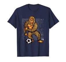 New Shirts - Bigfoot Playing Soccer For Soccer Players Funny Gift T-Shirt Men - $19.95+