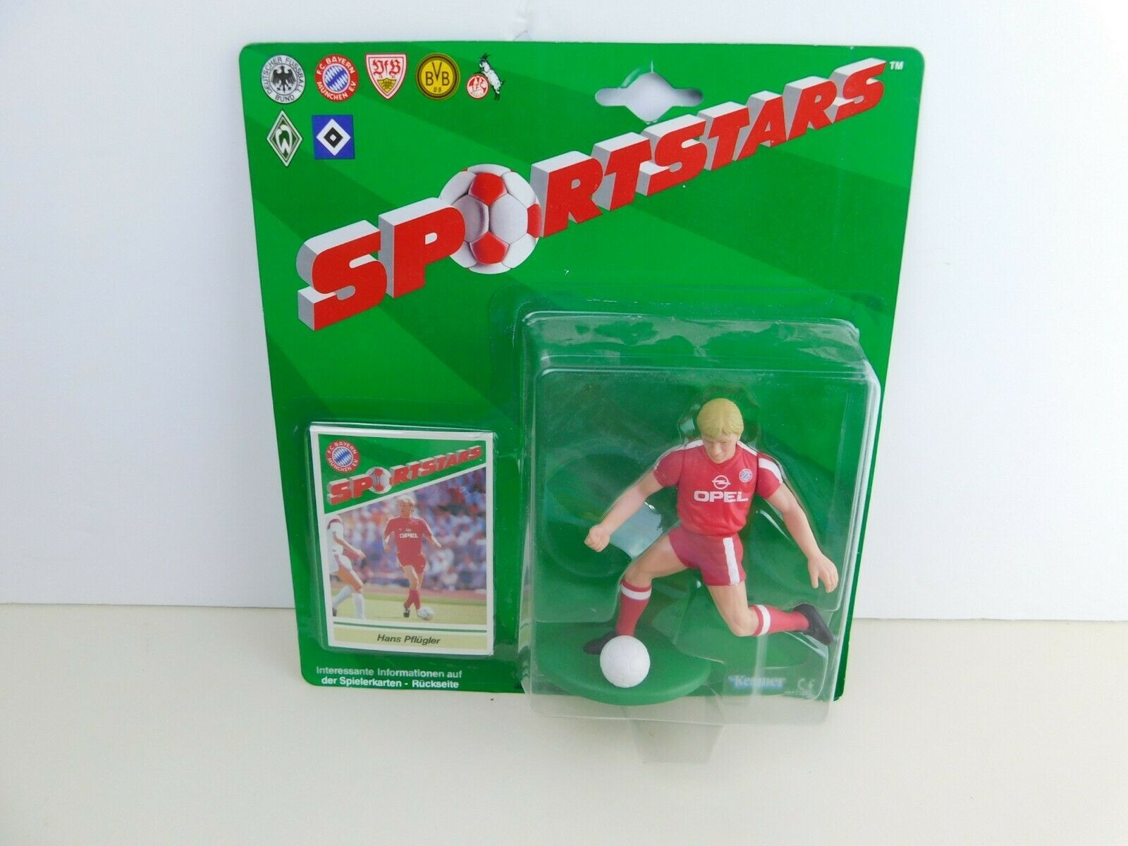 Primary image for NEW Hans Pflugler FC Bayern Munich Sportstars Starting Lineup Action Figure