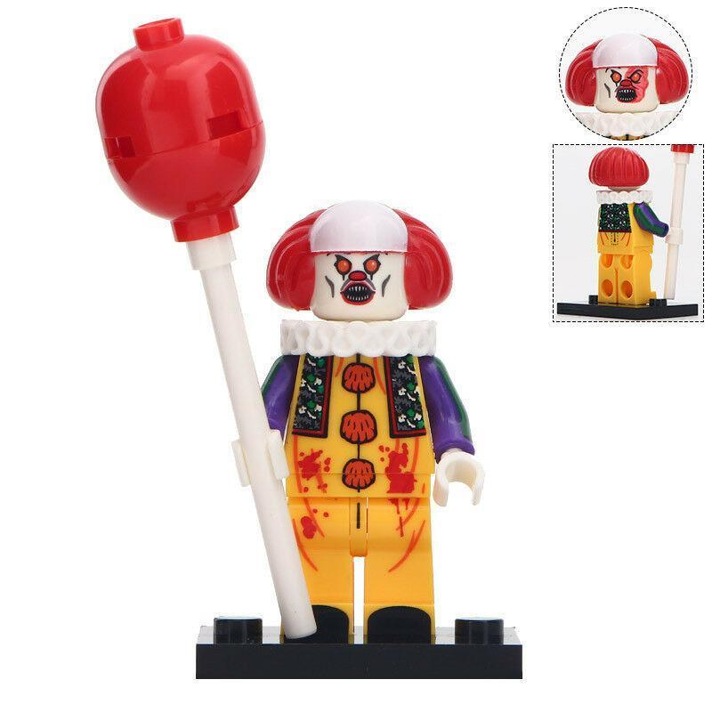 Pennywise The Dancing Clown Horror Film Lego Minifigures Block Toy Gift