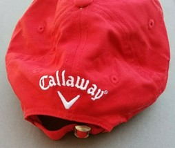 Callaway Golf Hat Cap Logo Red - $18.99