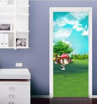 3D Gras, Pilze 366 Door Wall Mural Photo Wall Sticker Decal Wall AJ WALLPAPER DE - $73.11+