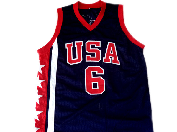 Tracy McGrady #6 Team USA New Men Basketball Jersey Navy Blue Any Size