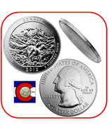 2012 Denali AK 5 oz Silver America the Beautiful (ATB) Coin in airtite - €190,32 EUR