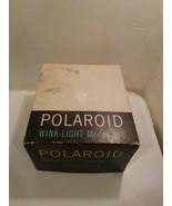 Vintage Polaroid Wink Light Flash Model 250 in orginal Box Untested - $7.95