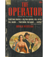 THE OPERATOR aka KILLING TIME  Donald Westlake - NOVEL - SMALL TOWN DETE... - $18.00