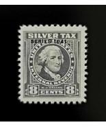 1941 8c Internal Revenue, A. J. Dallas, Silver Tax, Mint NH, RG63, Overp... - $20.99