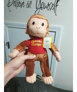 """Curious George Plush monkey Stuffed Animal 13"""" in Red Shirt Kelly TOY w/... - $0.98"""